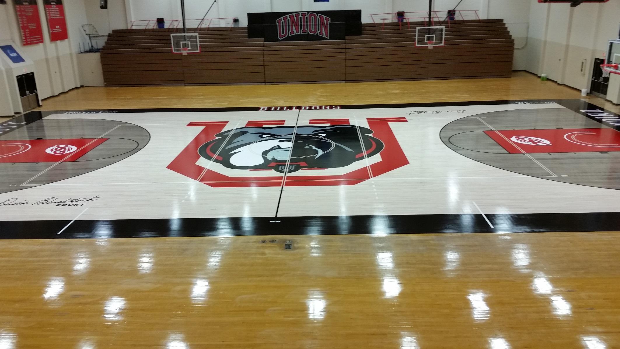 union university gym masters basketball courts