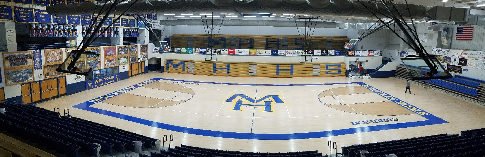 Mountain Home High School Gym Masters Basketball Courts